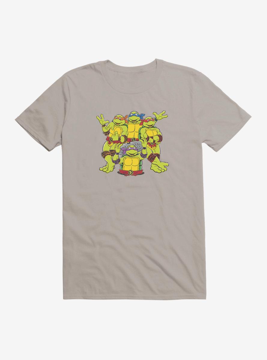 Teenage Mutant Ninja Turtles Meet The Gang T-Shirt
