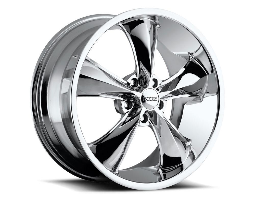 Foose F105 Legend Chrome 1-Piece Cast Wheel 17x7 5x120.7 01mm