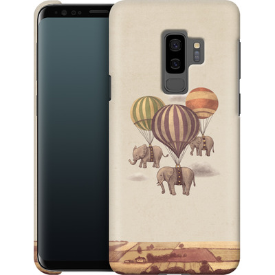 Samsung Galaxy S9 Plus Smartphone Huelle - Flight Of The Elephants von Terry Fan