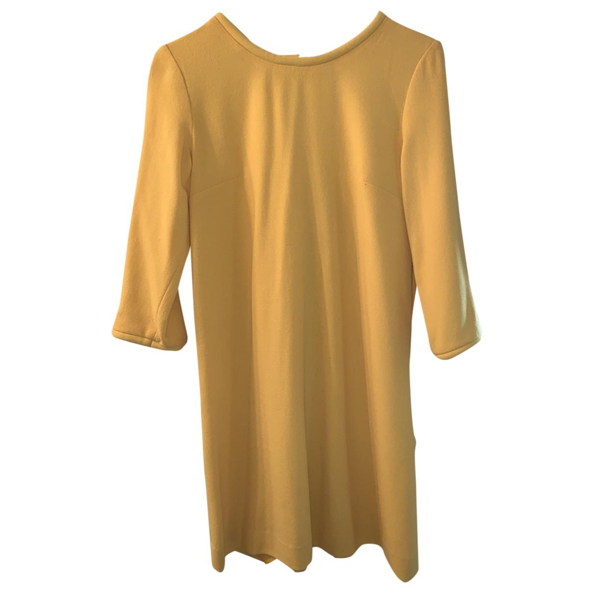 Goat \N Kleid in  Gelb Wolle