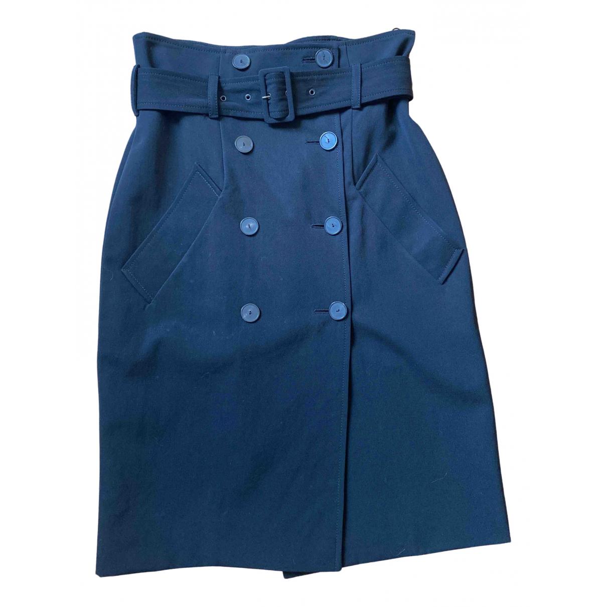 Jean Paul Gaultier \N Black Wool skirt for Women 36 FR