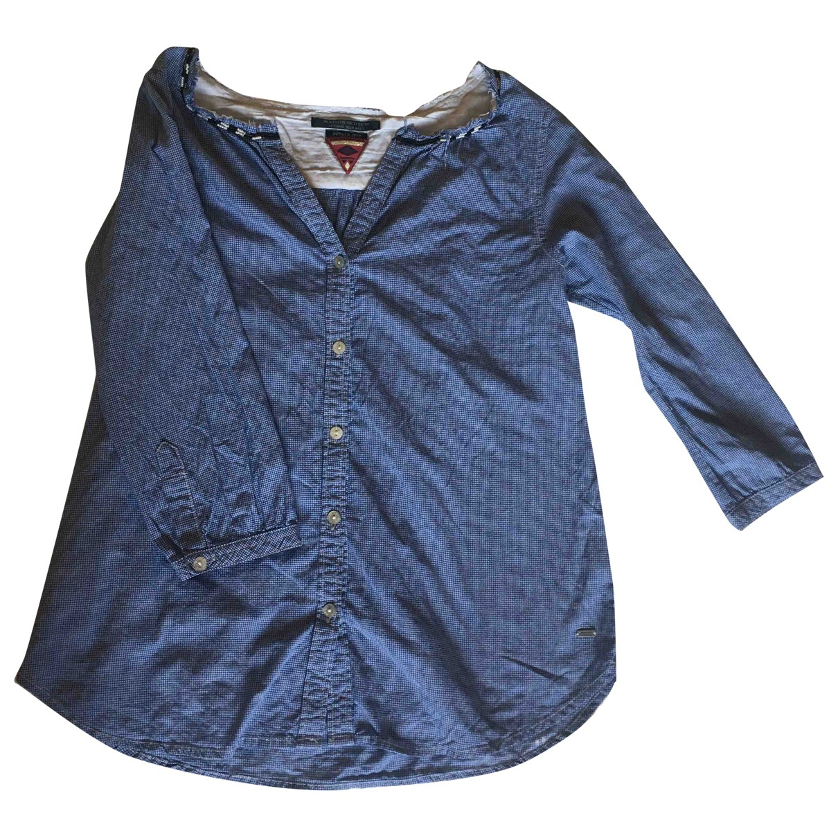 Maison Scotch \N Blue Cotton  top for Women S International