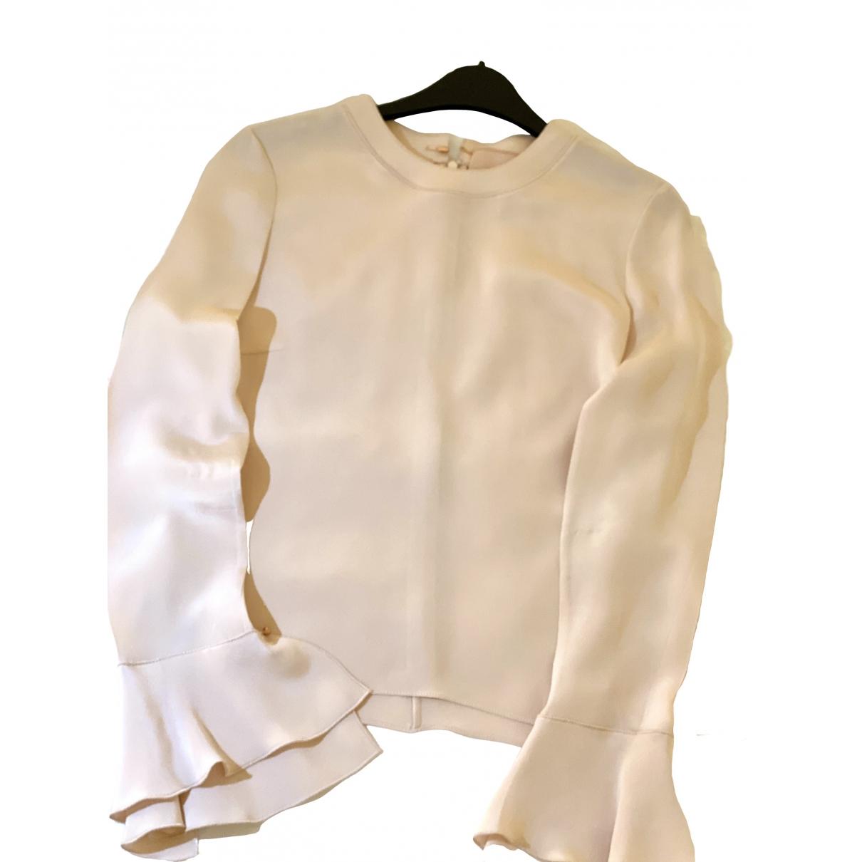 Roksanda \N Beige Silk  top for Women 8 UK