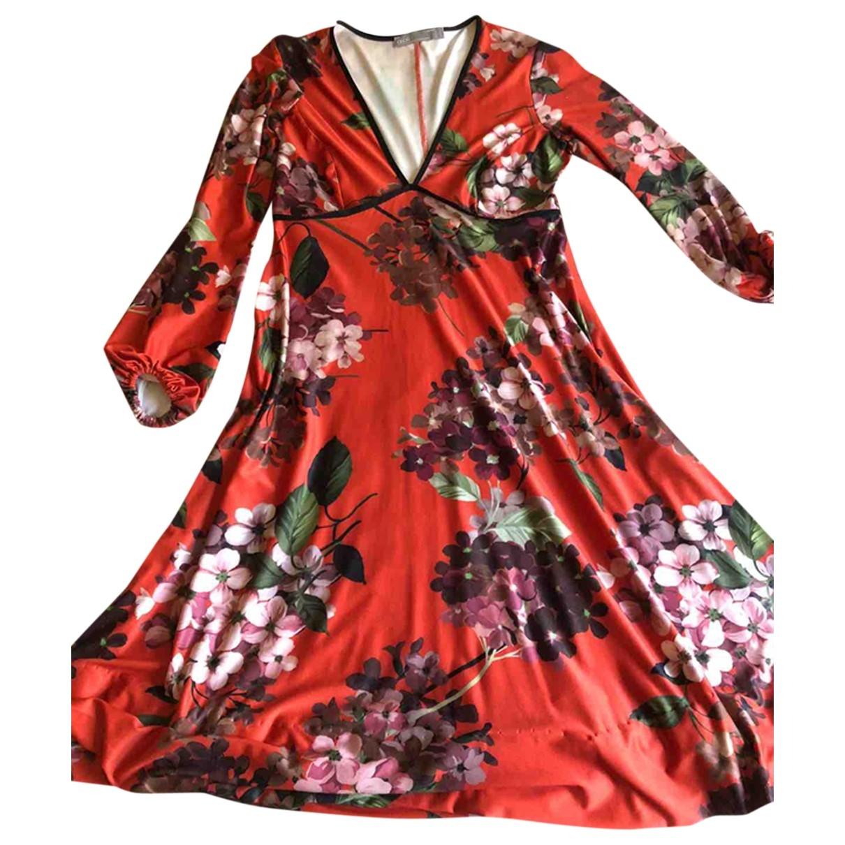 Asos \N Kleid in  Orange Polyester