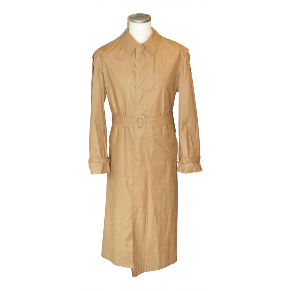 Aigner - Manteau   pour homme en coton - marron