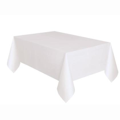 Solide blanc Rectangulaire en Plastique sur le Couvercle de la Table 54