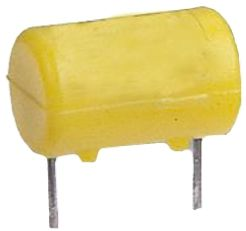 Littelfuse 1A Radial F Non-Resettable Wire Ended Fuse, 125Vrms