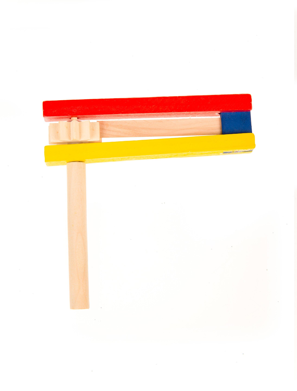 Kostuemzubehor Holzratsche bunt Farbe: multicolor bzw. bunt