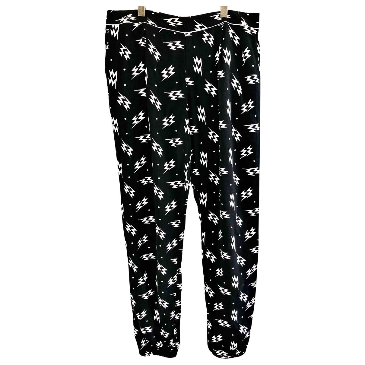 Claudie Pierlot \N Black Trousers for Women 36 FR