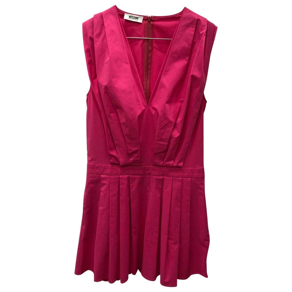 Moschino Cheap And Chic - Combinaison   pour femme en coton - rose