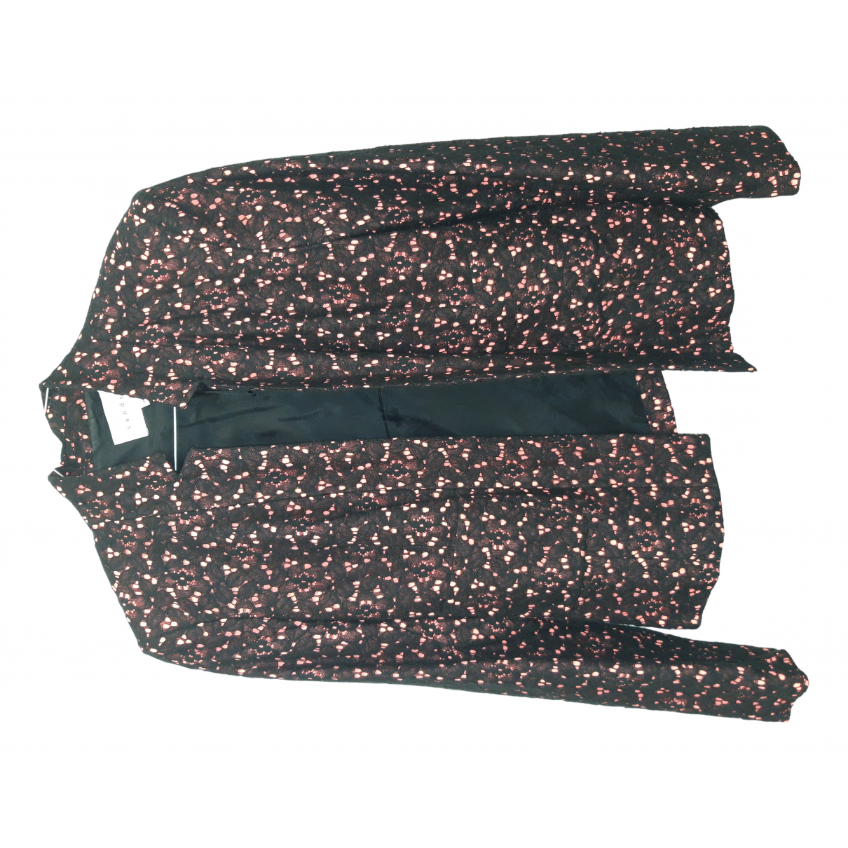 Sandro N Black Cotton jacket for Women 40 FR