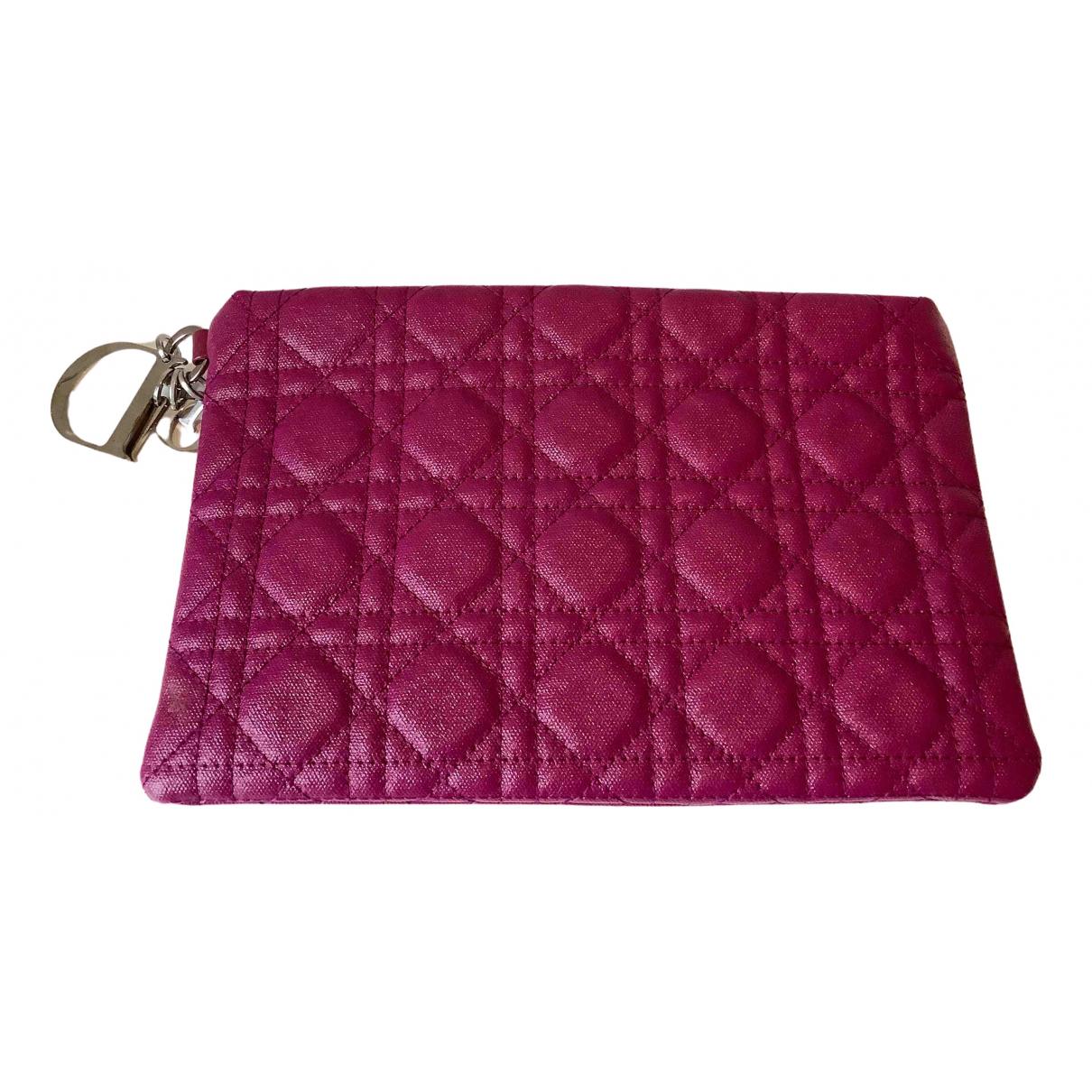 Pochette Lady Dior de Cuero Dior