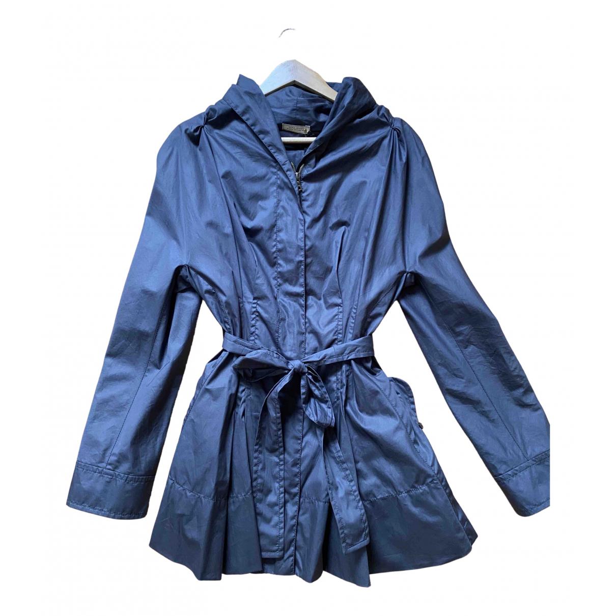 Nina Ricci N Grey Cotton Trench coat for Women 38 FR