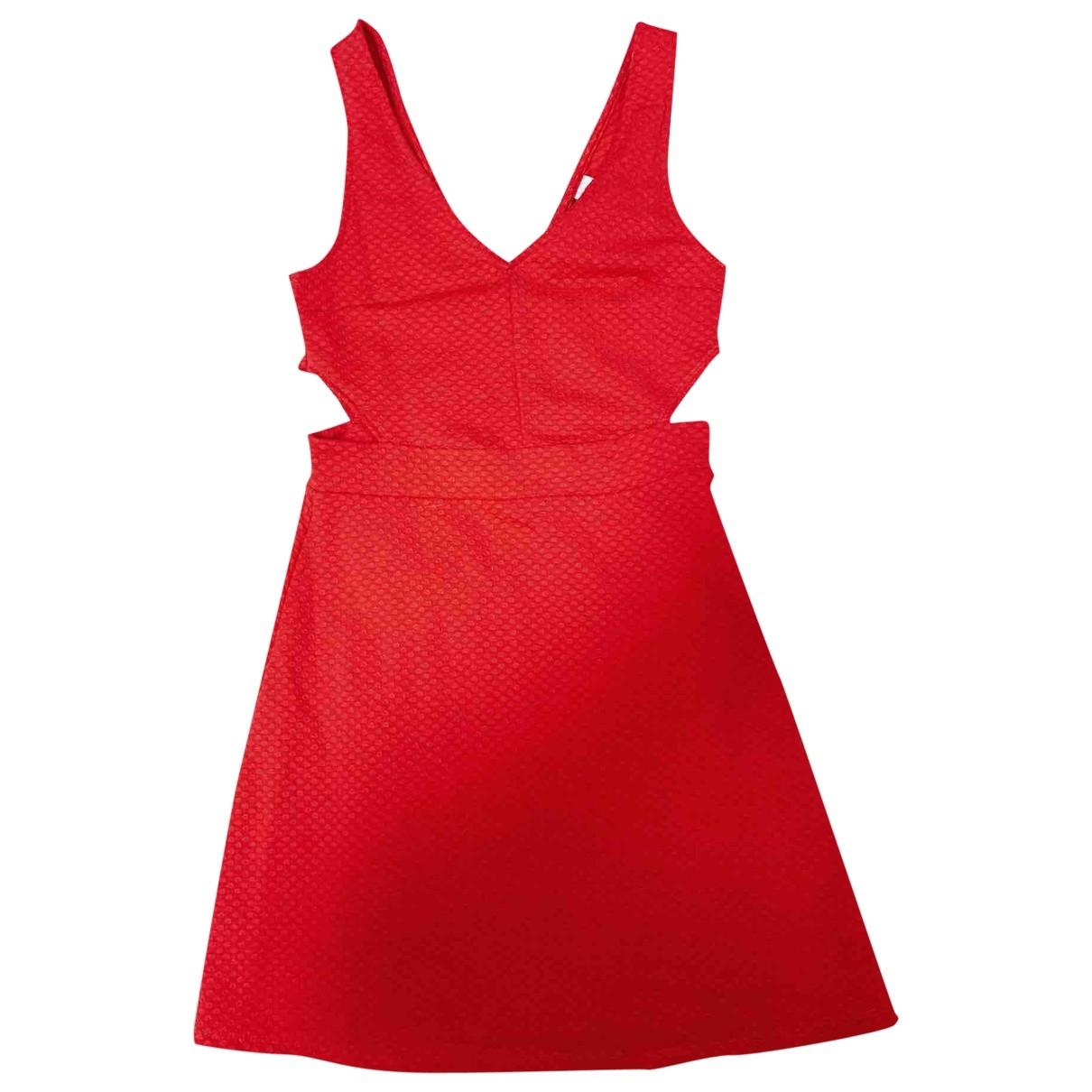 H&m Studio \N Kleid in  Rot Polyester