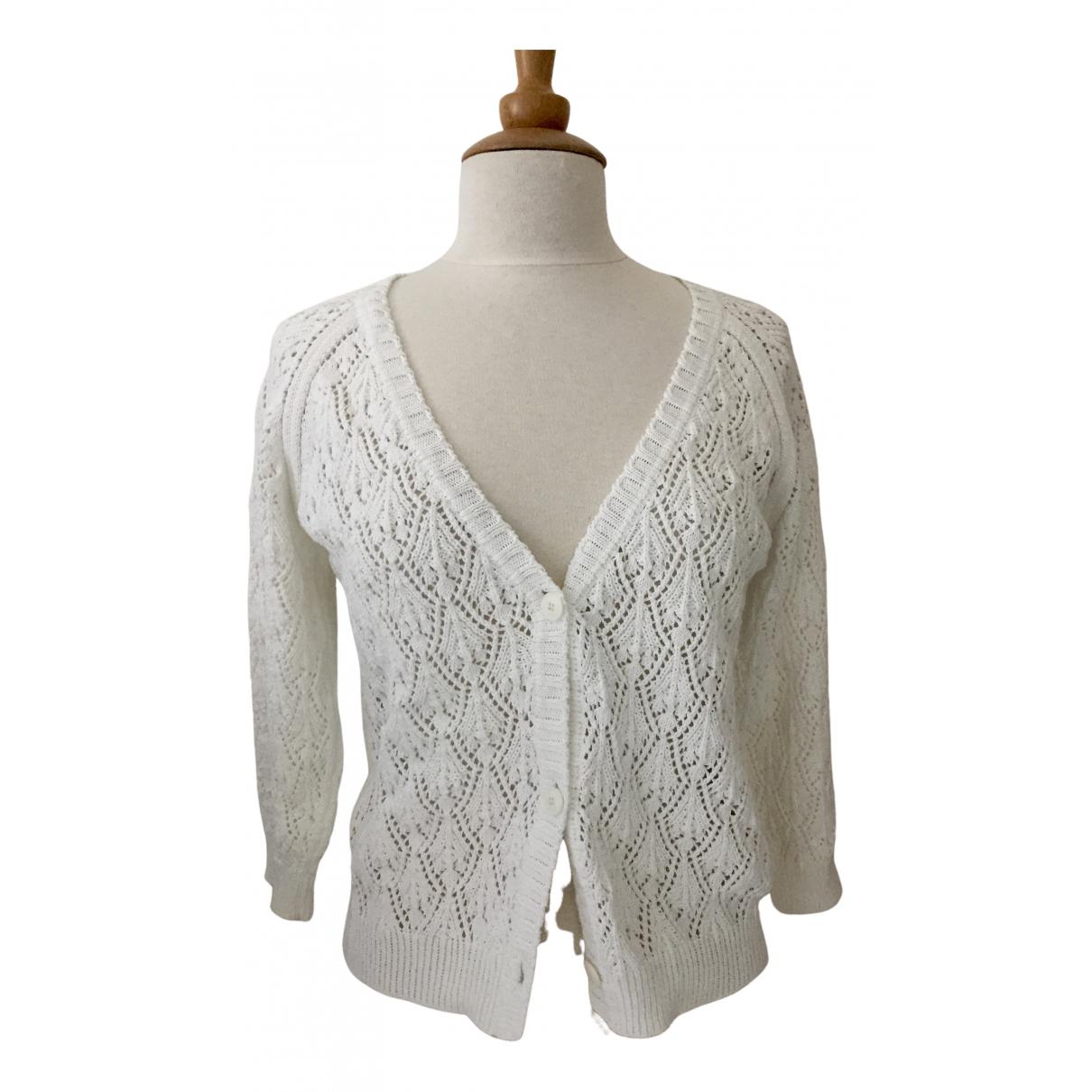 Vanessa Bruno Athe \N Pullover in  Weiss Baumwolle