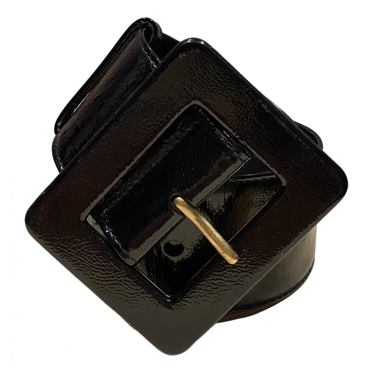 Cinturon de Charol Yves Saint Laurent