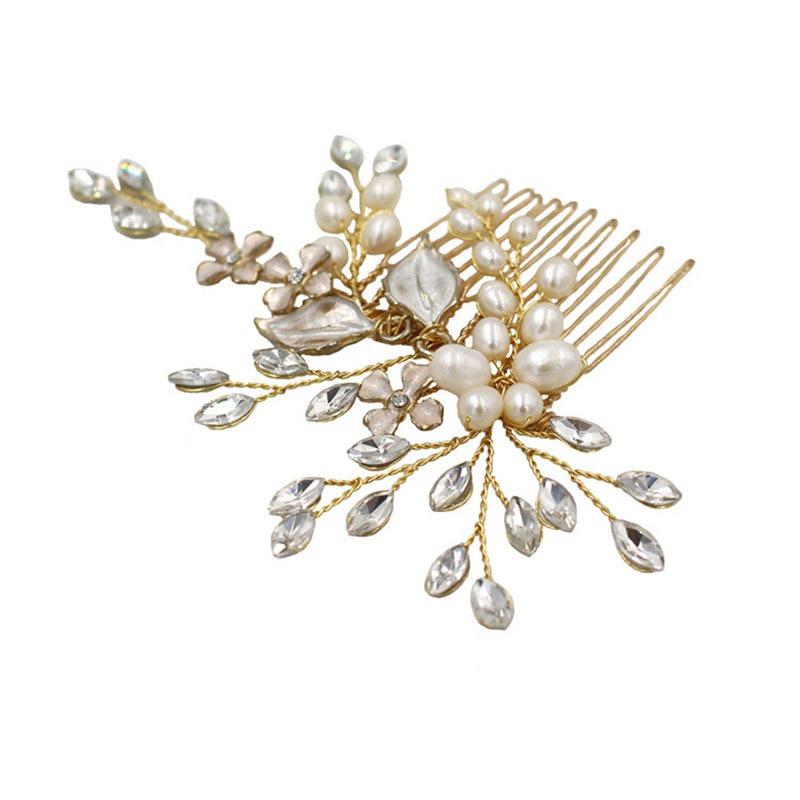 Ericdress Wedding Hair Comb Floral Hair Accessories