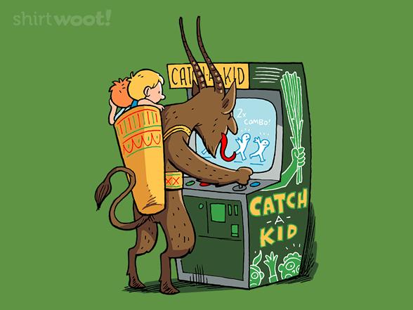 Xmas Arcade- Krampus T Shirt