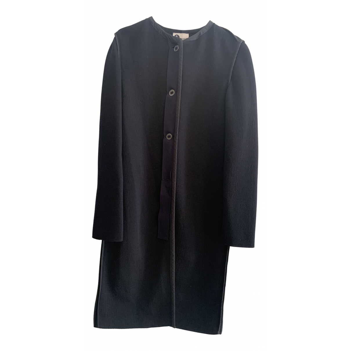 Lanvin N Black Wool coat for Women 38 FR
