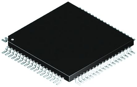 Microchip DSPIC30F6014-30I/PF , 16bit Digital Signal Processor 30MHz 144 kB Flash 80-Pin TQFP