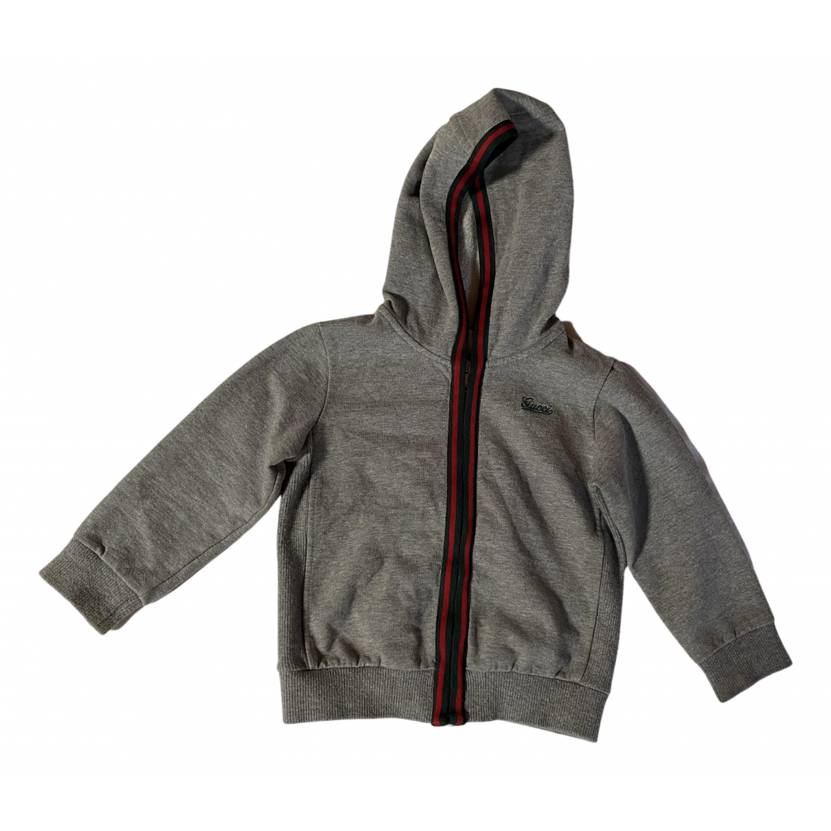 Gucci N Grey Cotton Knitwear for Kids 12 months - up to 74cm FR