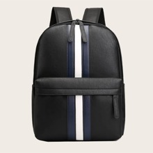 Guys Striped Backpack