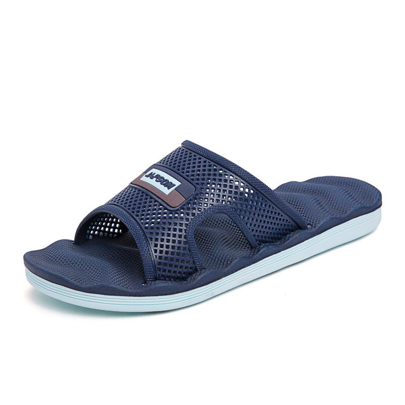 Men Hole Comfy Home Beach Slip On Casual Inner Slippers