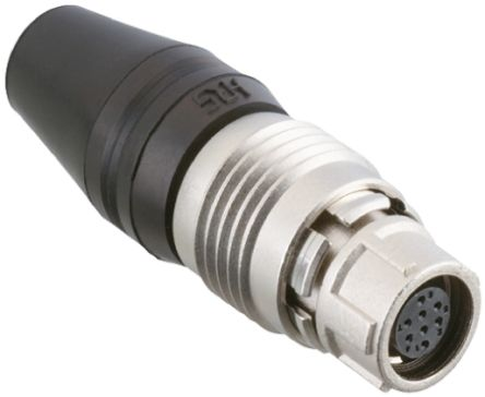 Hirose Connector, 4 contacts Cable Mount Miniature Socket, Solder