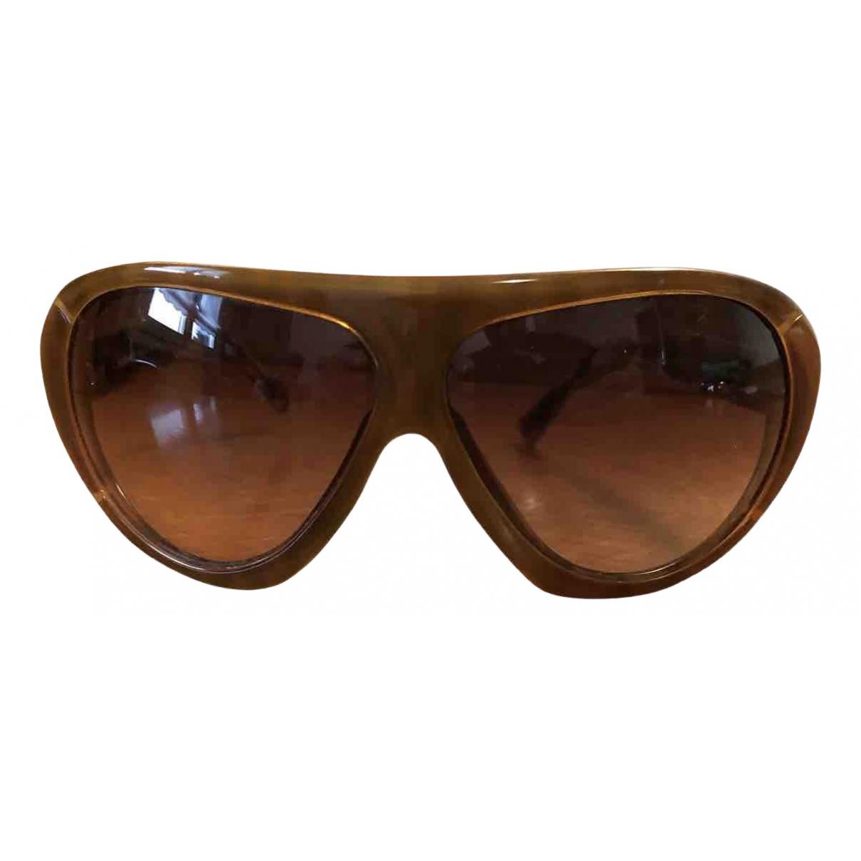 Versace - Lunettes   pour homme - marron