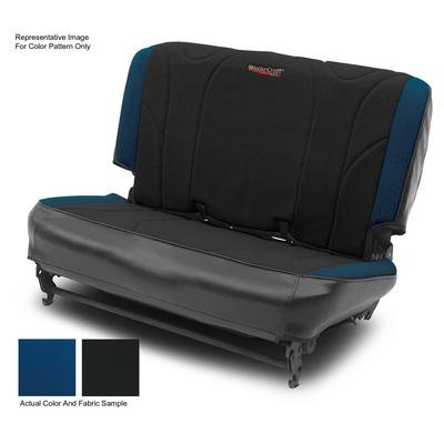 MasterCraft Safety Fold & Tumble Rear Seat Slip Cover, BRS Stitch (Black/Blue) - 702623