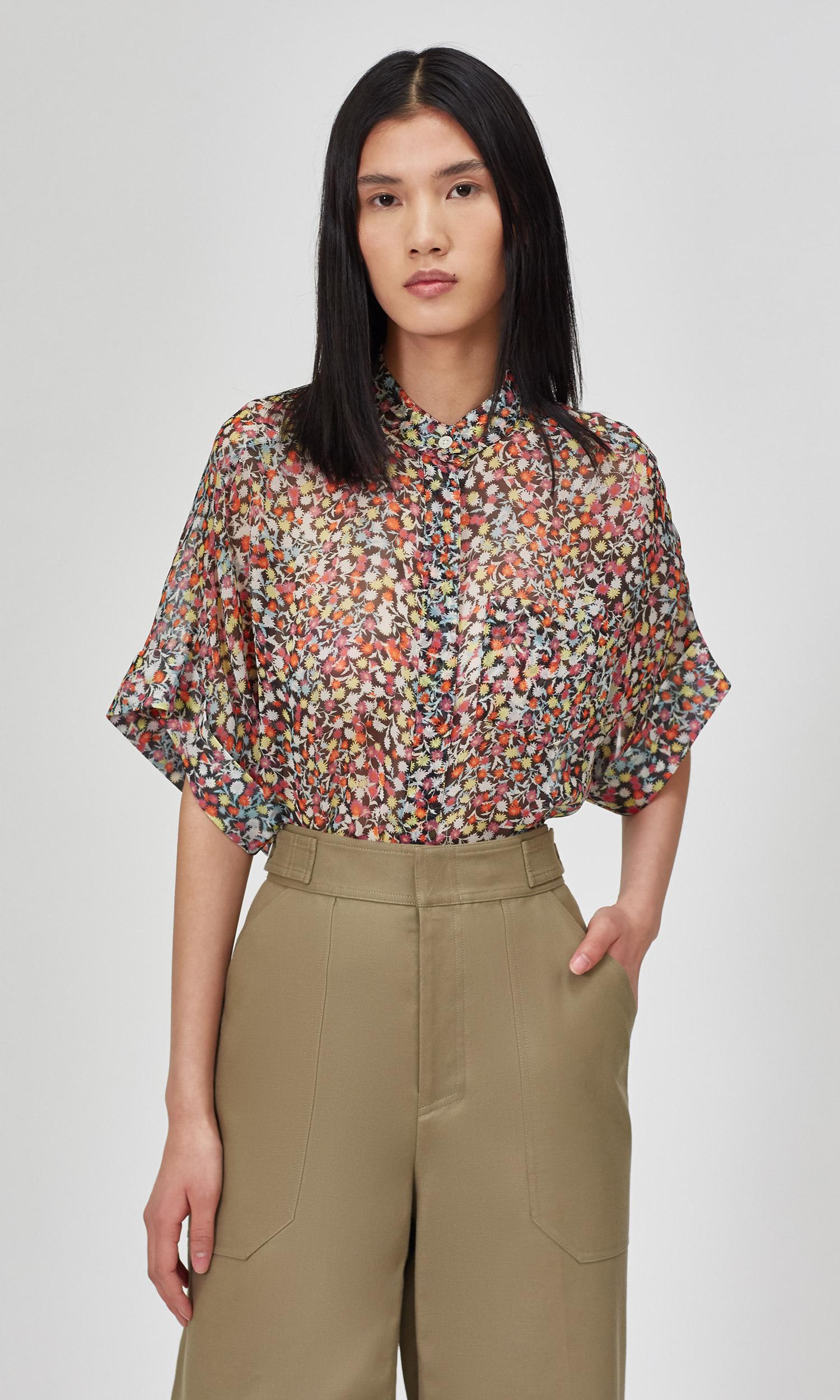Alvia Silk Shirt by Equipment