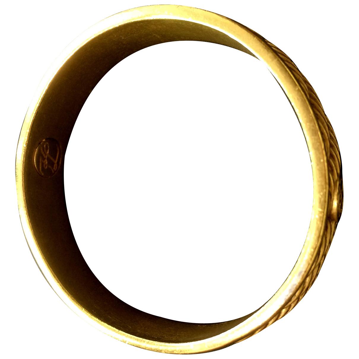 Karl Lagerfeld - Bracelet   pour femme en metal - jaune