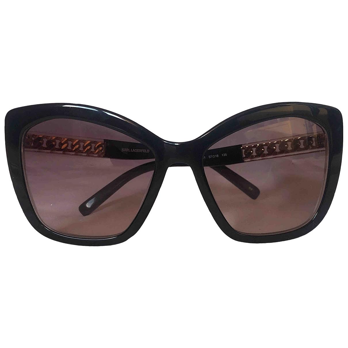 Karl \N Black Sunglasses for Women \N