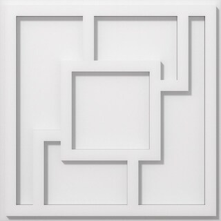 Knox Architectural Grade PVC Contemporary Ceiling Medallion (16