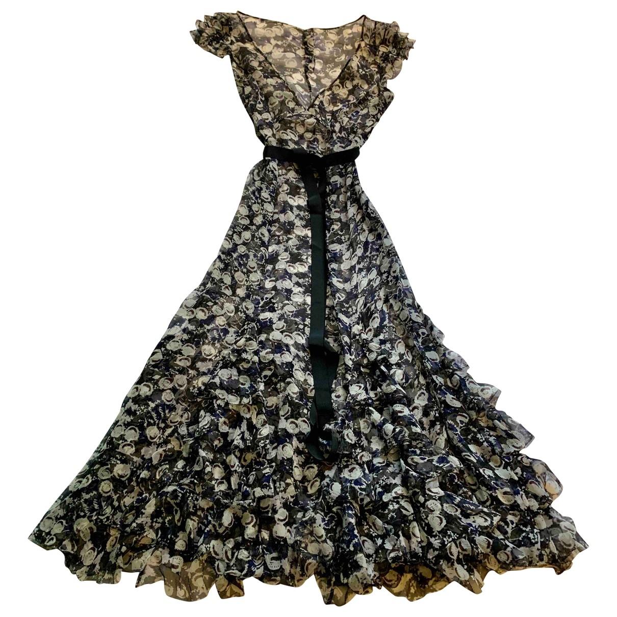 Nicole Farhi \N Blue Silk dress for Women 10 UK