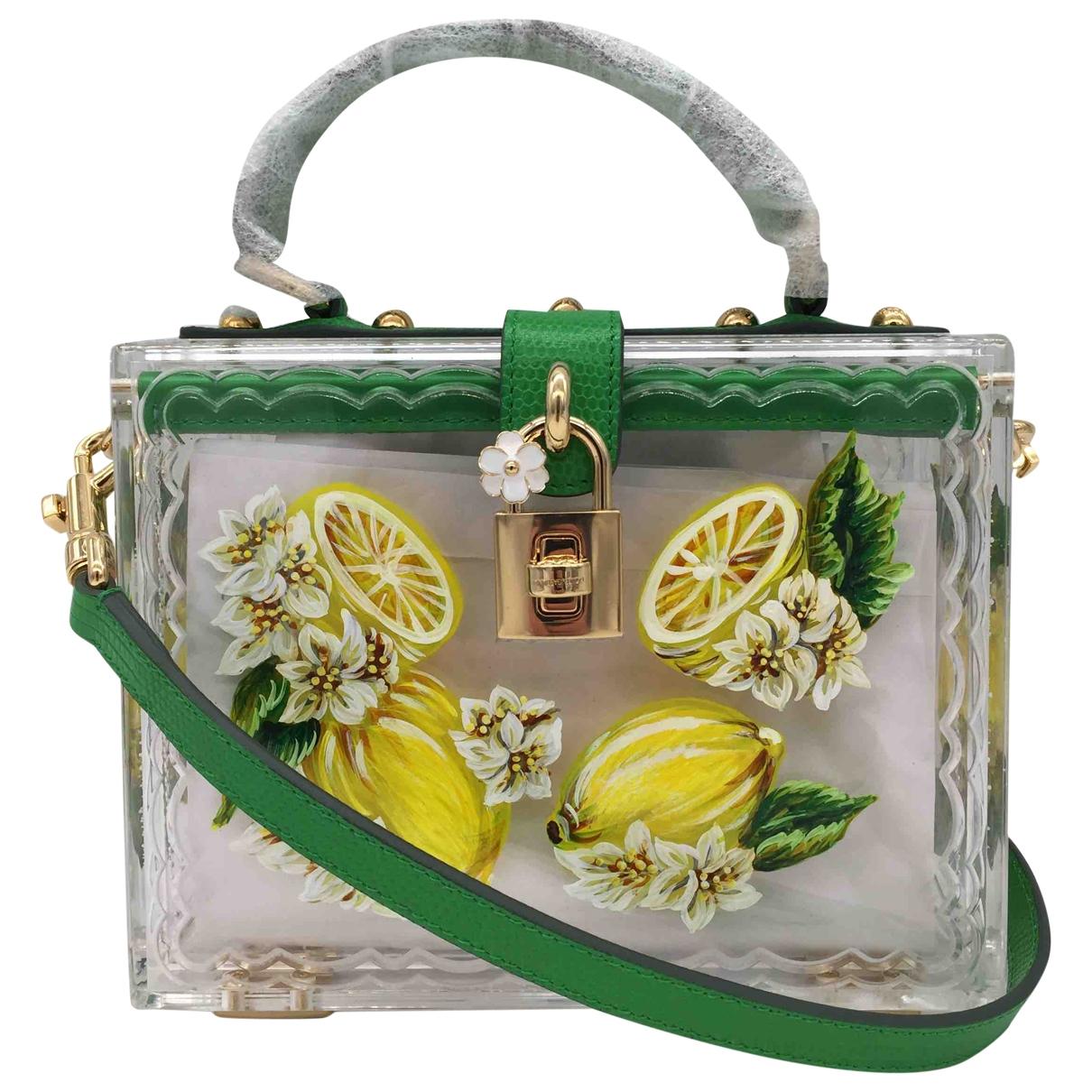 Dolce & Gabbana - Pochette   pour femme - vert