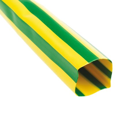 TE Connectivity Heat Shrink Tubing, Green 26mm Sleeve Dia. x 1.5m Length 2:1 Ratio, DCPT Series