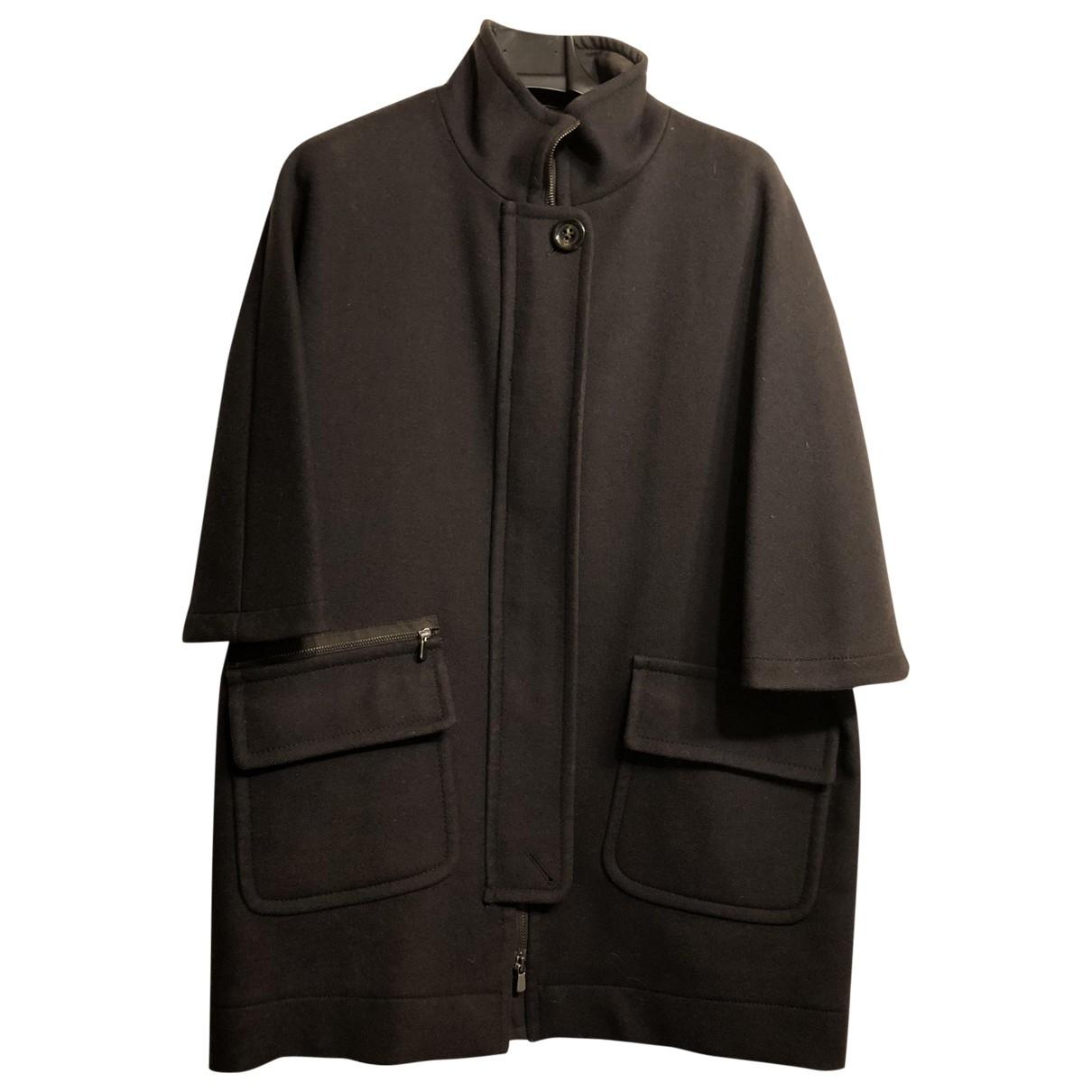 Marella \N Brown Wool coat for Women 42 IT