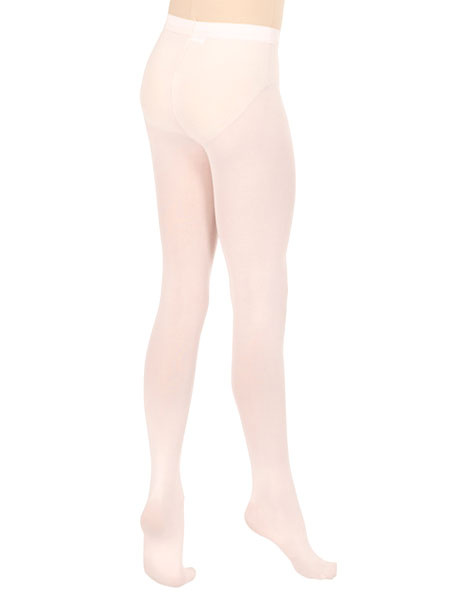 Milanoo White Bellerina Lycra Spandex Ballet Stockings for Women