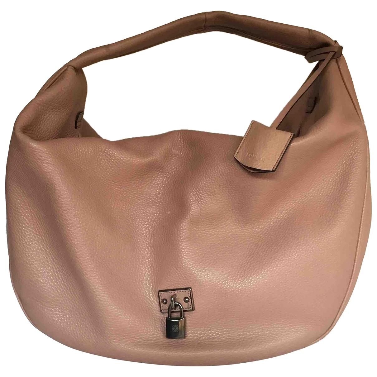 Loewe - Sac a main   pour femme en cuir - rose
