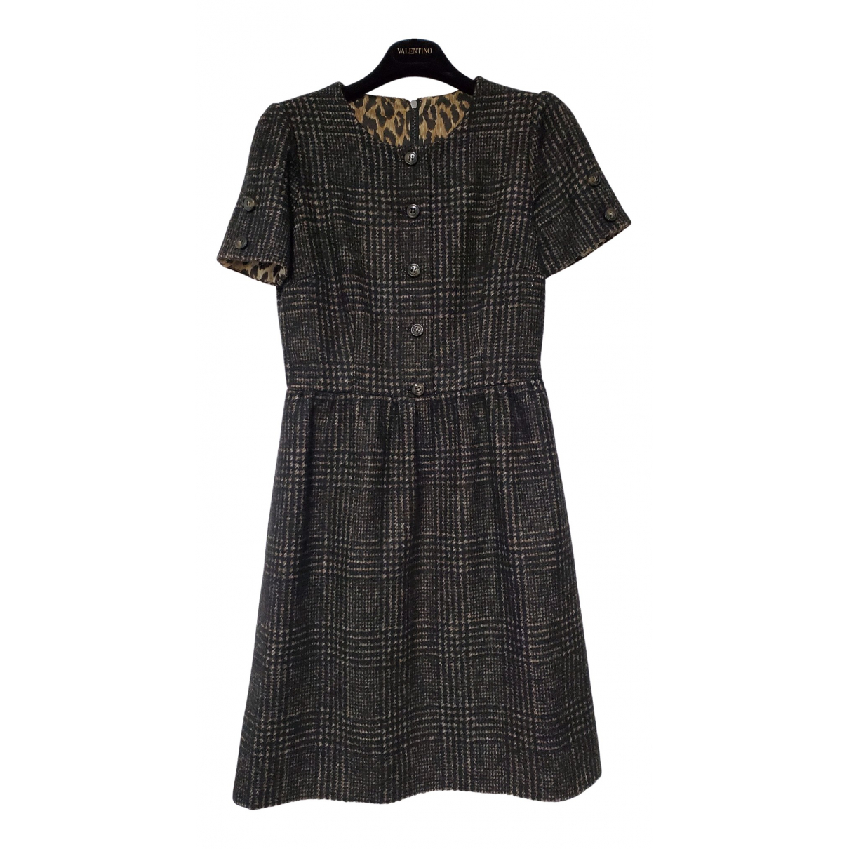 Dolce & Gabbana \N Brown Wool dress for Women 40 IT