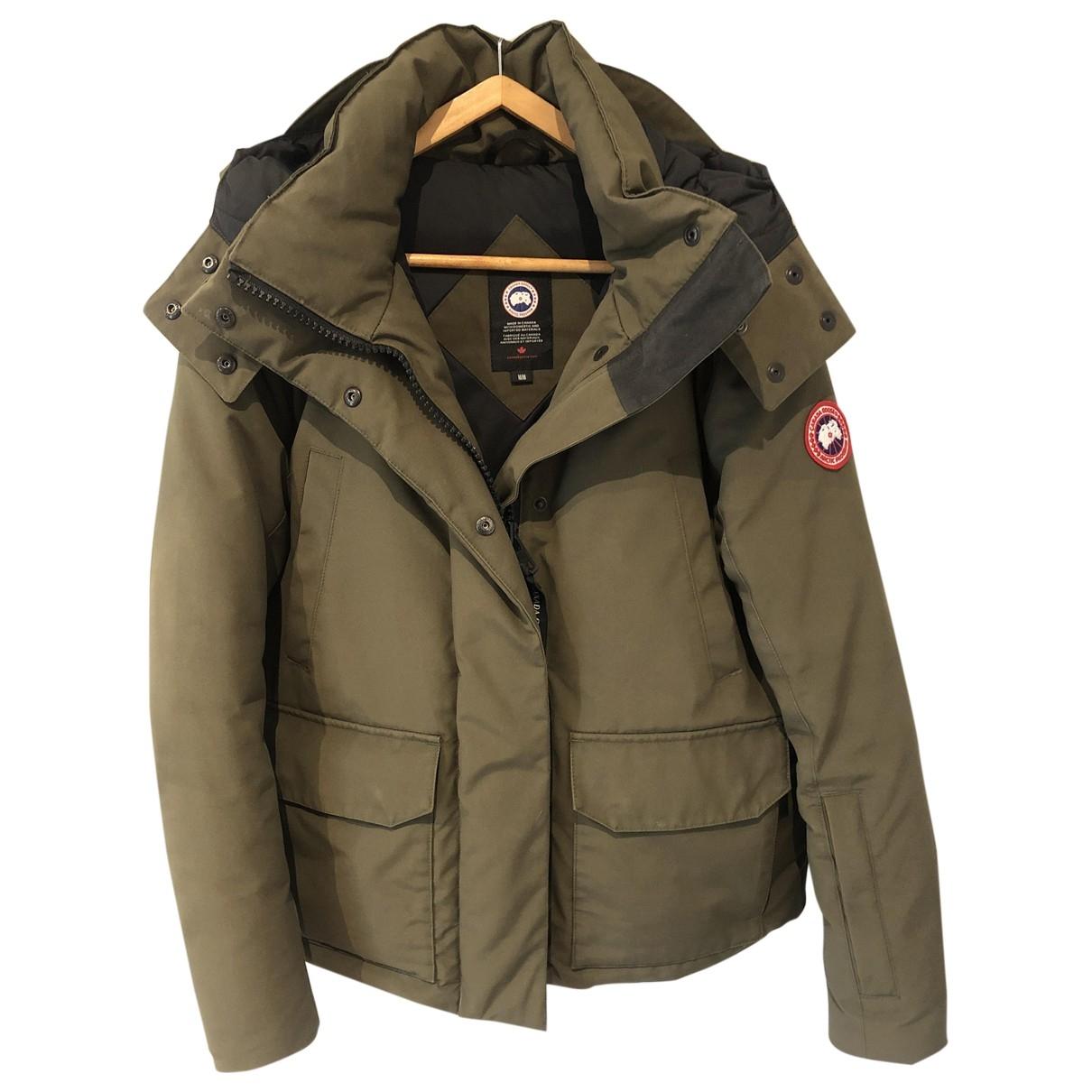 Canada Goose \N Khaki coat for Women M International