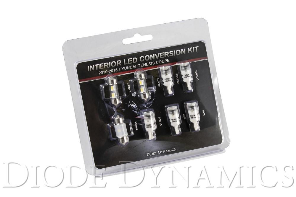 Diode Dynamics DD0272 2010-2016 Hyundai Genesis Coupe Interior Kit Stage 1 Cool White