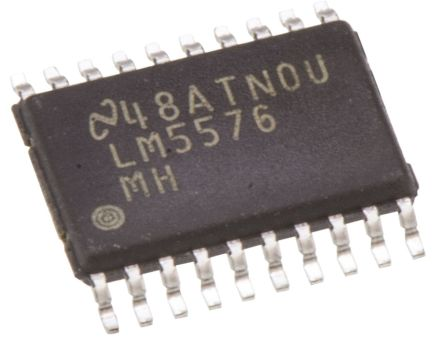 Texas Instruments , LM5576MH/NOPB Step-Down Switching Regulator, 1-Channel 3A Adjustable 20-Pin, TSSOP