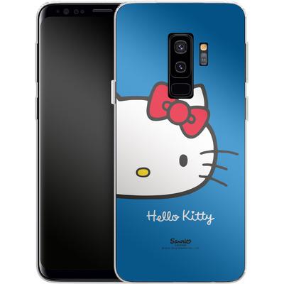 Samsung Galaxy S9 Plus Silikon Handyhuelle - Hello Kitty Closeup von Hello Kitty