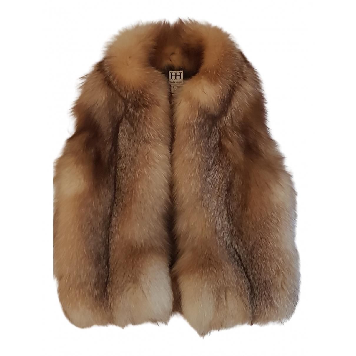 Haute Hippie N Beige Fox jacket for Women S International