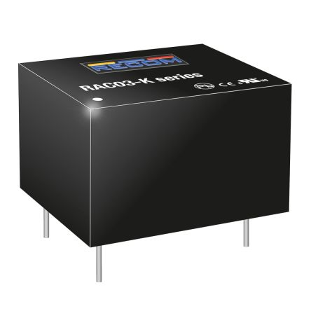 Recom , 3W Embedded Switch Mode Power Supply SMPS, 18V dc
