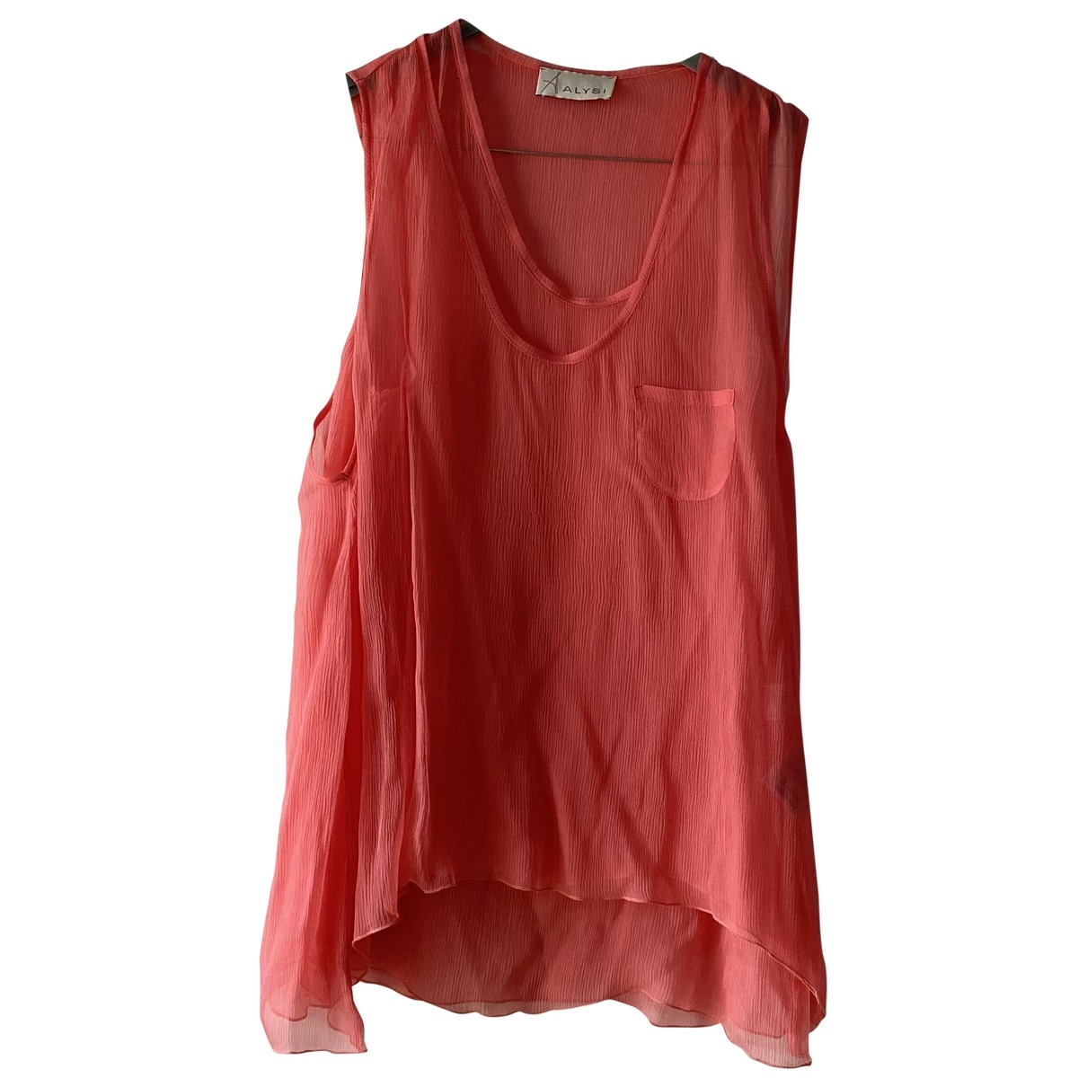 Non Signé / Unsigned \N Silk  top for Women One Size FR