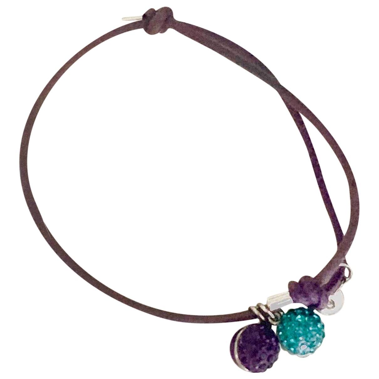 Swarovski - Bracelet   pour femme en toile - violet