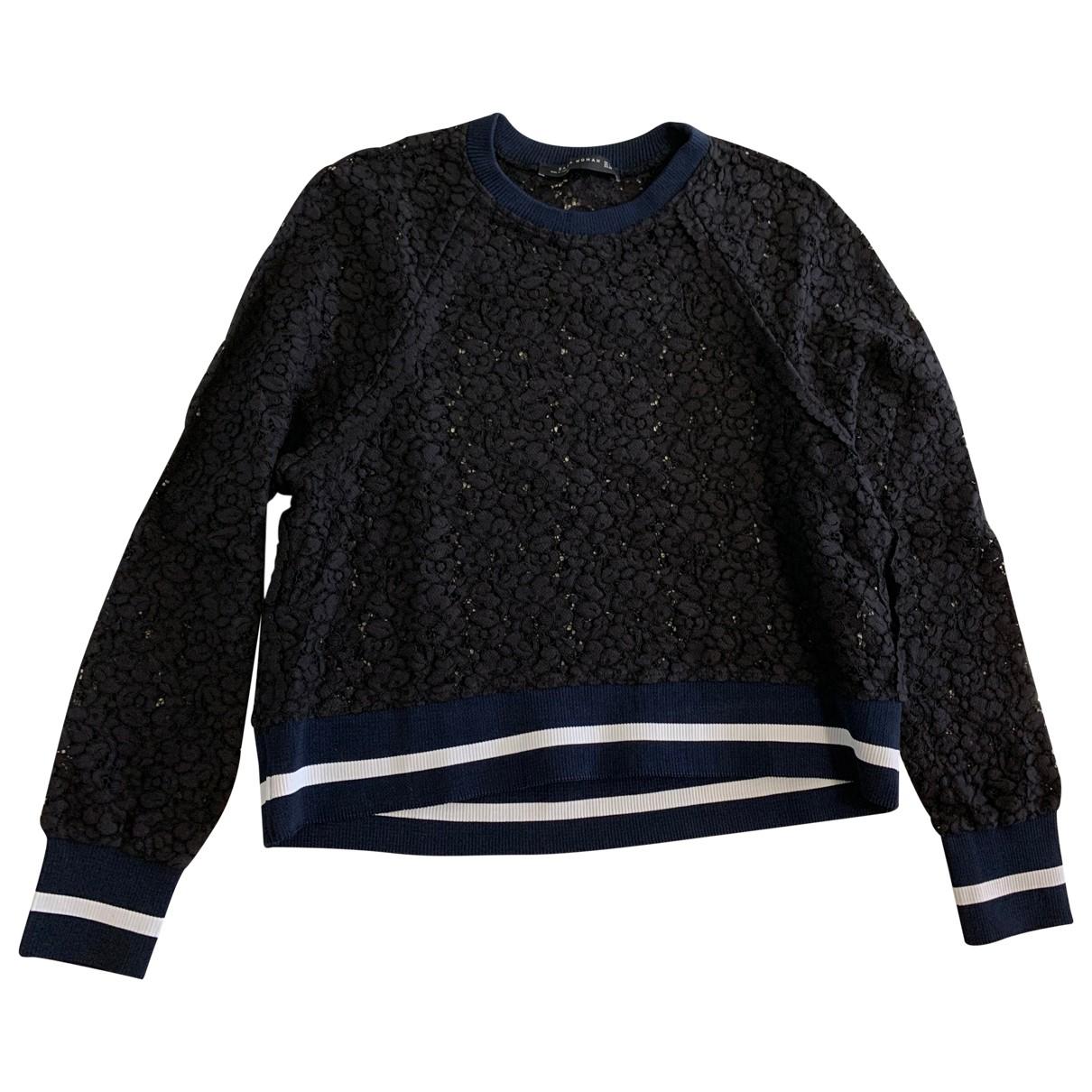 Zara N Navy Knitwear for Women L International